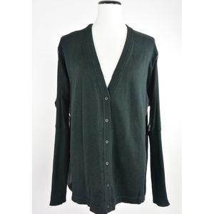 Subtle Luxury Cashmere Silk Cardigan M/L #214
